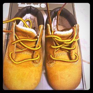 Timberland crib wheat boots
